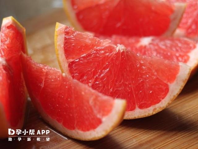 吃柚子可以提高卵泡质量