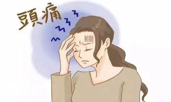持续的严重头痛